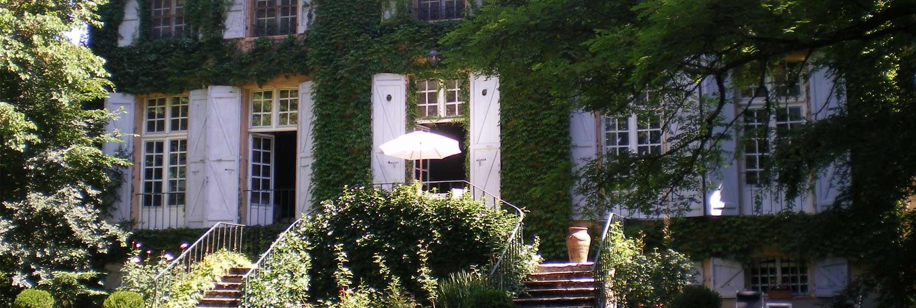 chateau de Foncoussieres, facade est